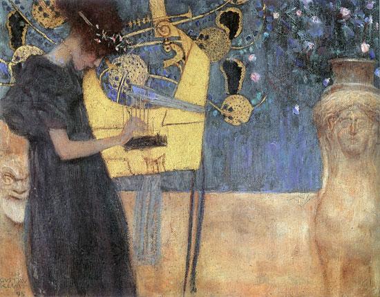 Music, Gustav Klimt (20X28.5)