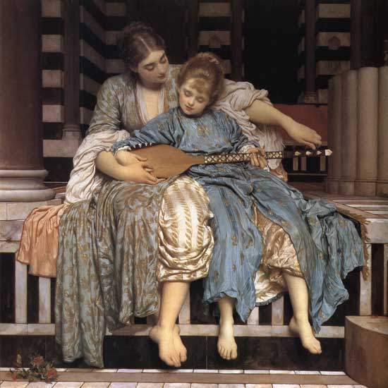 The Music Lesson, Fredrick Leighton