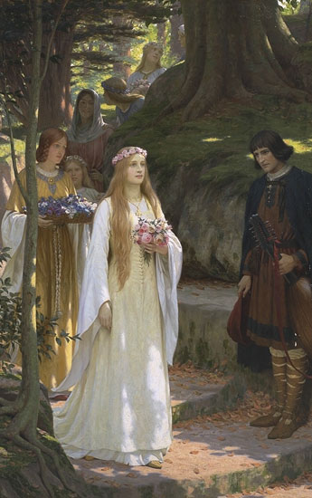 My Fair Lady, Edmund Blair Leighton