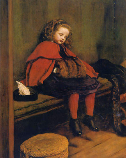 My Second Sermon, Millais (16X20)