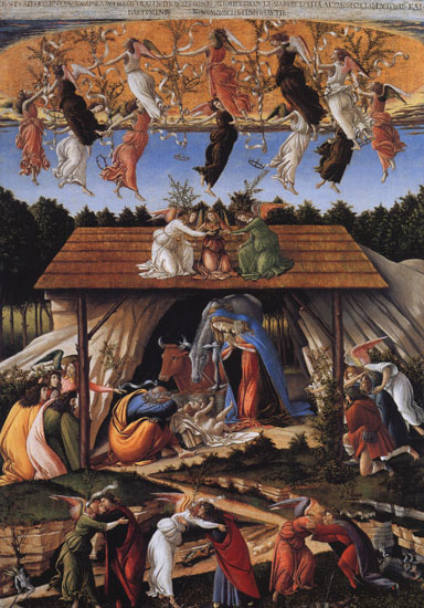 Mystic Nativity, Botticelli (22X31.5)