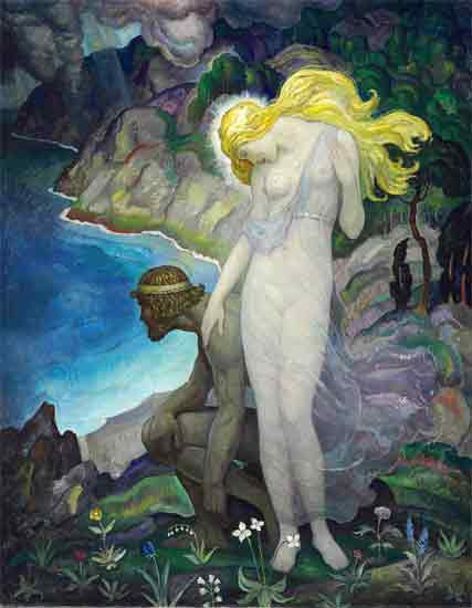 Odysseus and Calypso, N. C. Wyeth
