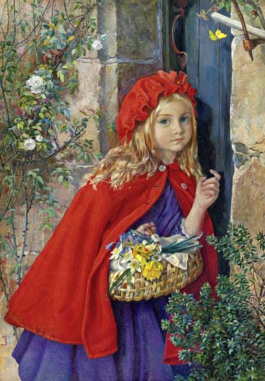 Little Red Riding Hood, Naftel (16X23)