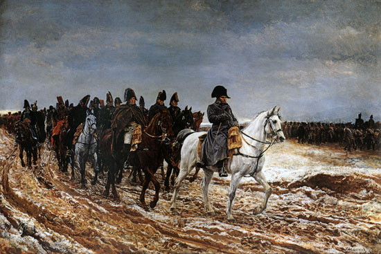 Napoleon on Campaign, Meissonier (20X30)
