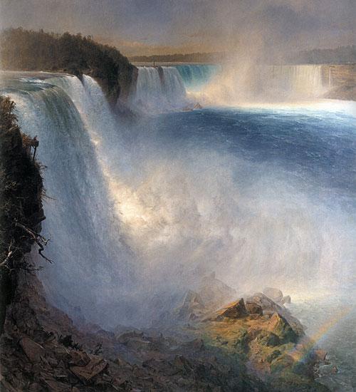 Niagra Falls, Fredrick Edwin Church
