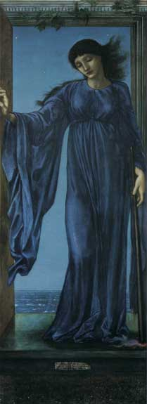 Night, Burne-Jones  (16X33)