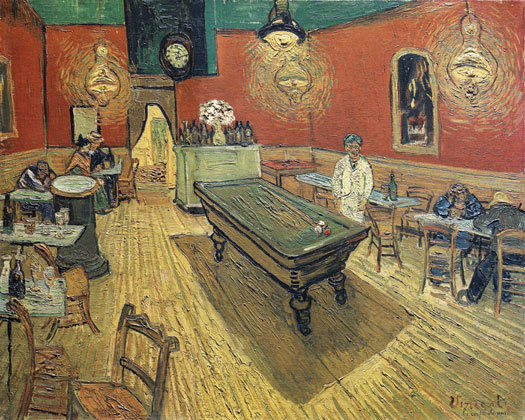Night Cafe at Arles, Vincent van Gogh