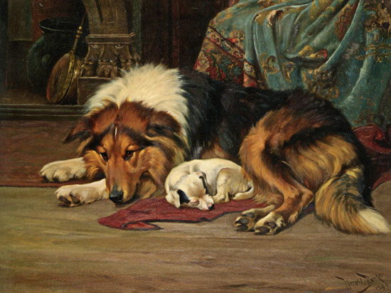 No Walk Today, Wright Barker (16.25X22)