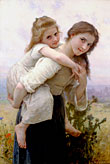 Not to Much to Carry William-Adolphe Bouguereau