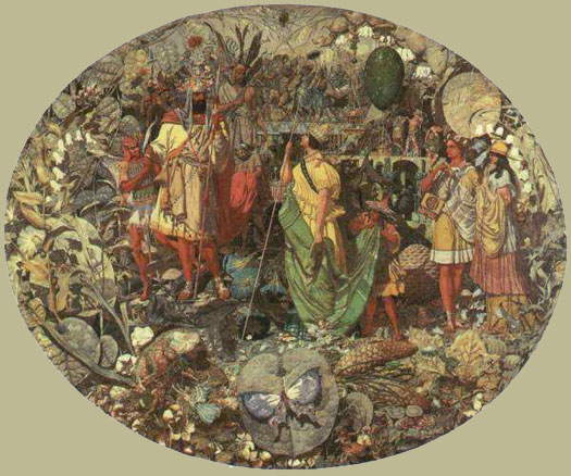 Contradiction: Oberon and Titania, Dadd