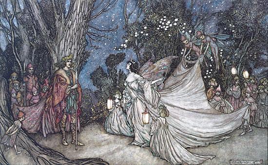 Oberon and TitaniaArthur Rackham