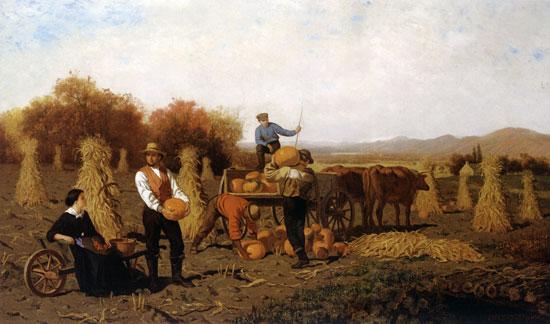 October, John Whetten Ehninger (20X34)