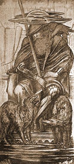 Odin, Edward Burne-Jones
