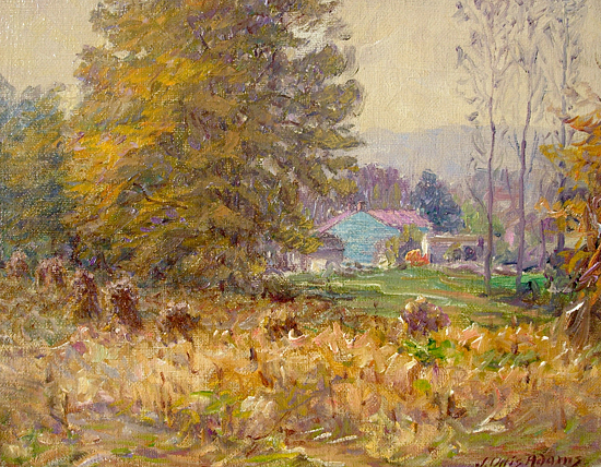 Old Homestead, John Ottis Adams