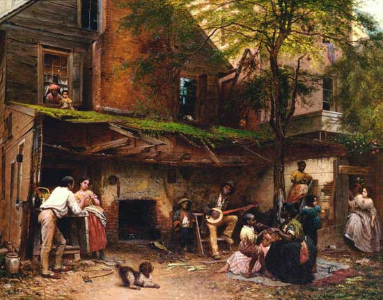 Old Kentucky Home, Eastman Johnson