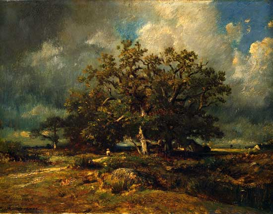 Old Oak Tree, Jules Dupre (22X28)