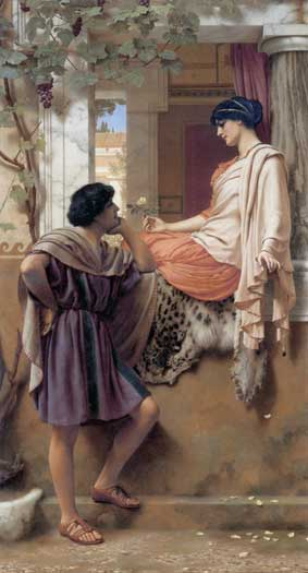 The Old Old Story, Godward