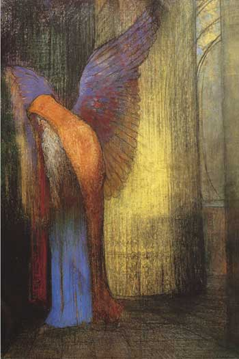 Old Man with Wings, Redon (16X24)