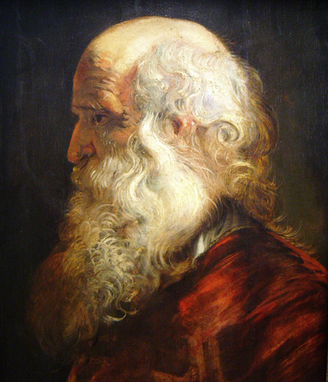 Old Man, Peter Paul Rubens (18X22.75)