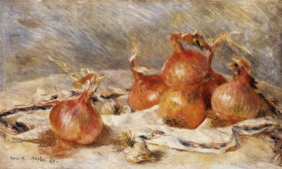 Onions, Auguste Renoir (15X25)