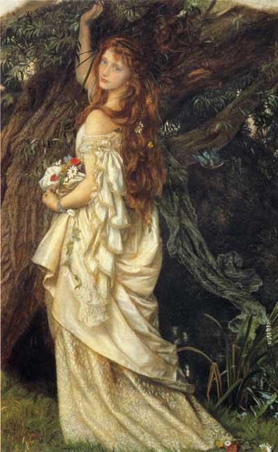 Ophelia, Hughes  (16X26)