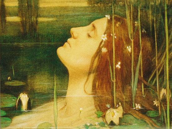 Ophelia, Antoon Van Welie (16.6x22)