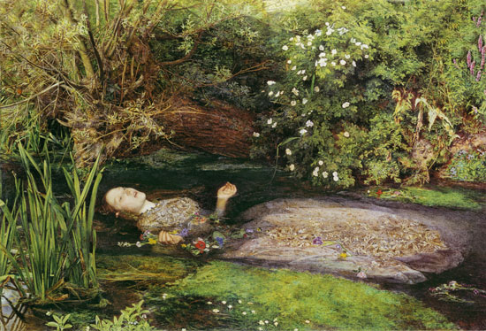 Ophelia, Sir John Everett Millais