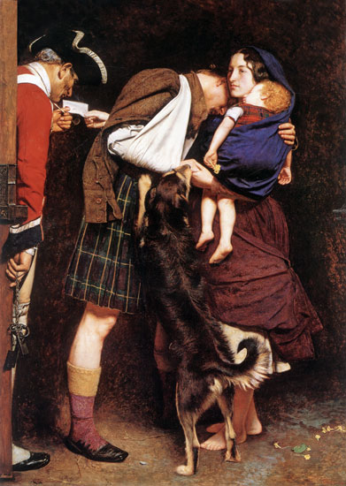 The Order of Release, Millais (16X22.5)