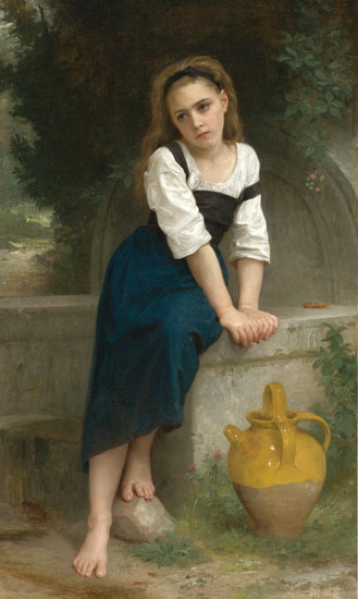 Orphan at the Spring, William-Adolphe Bouguereau