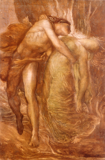 Orpheur and Eurydice, Watts (14.4X22)
