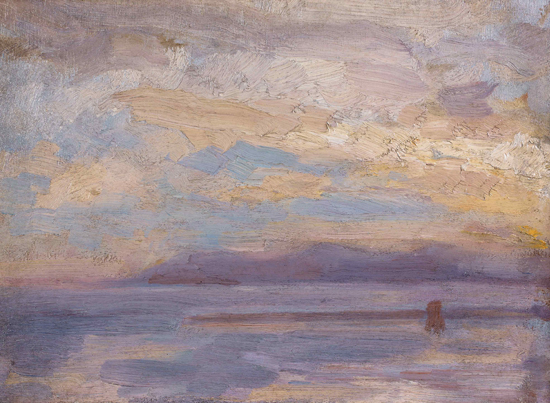 Seascape, Alphonse Osbert (22X30)
