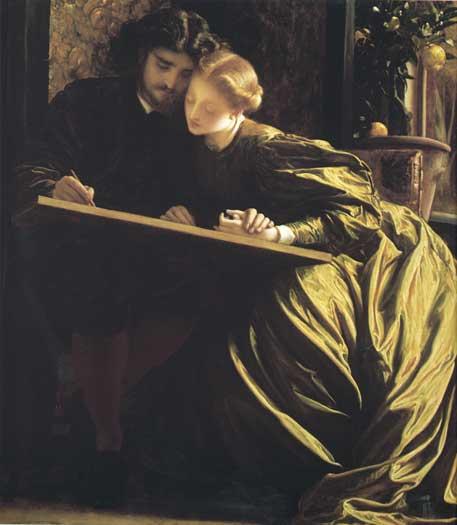 The Painters Honeymoon, F. Leighton (20X23)