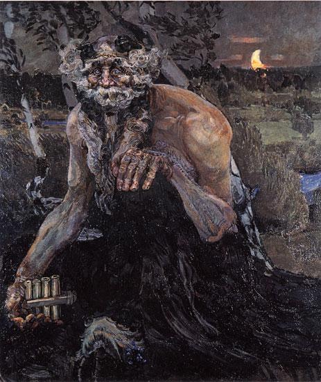 Pan, Mikhail Alexandrovich Vrubel (18.5X22)