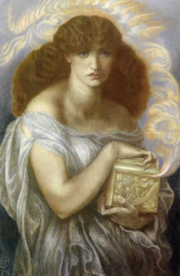 Pandora, Dante Gabriel Rossetti