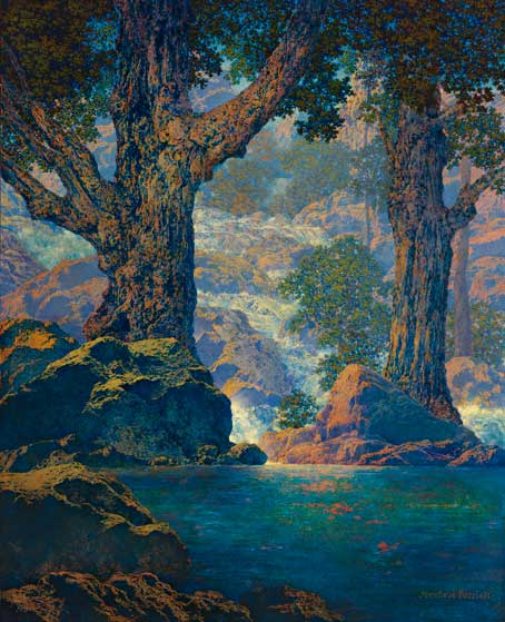 Cascades, Maxfield Parrish