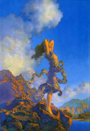 Ecstacy, Maxfield Parrish