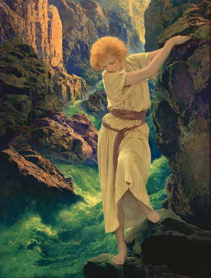 The Canyon, Maxfield Parrish