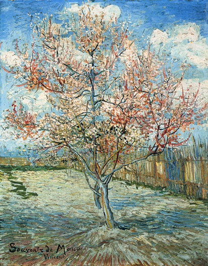 Peach Tree in Bloom, Vincent van Gogh
