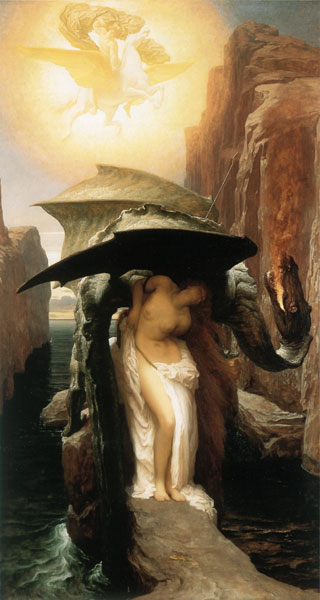 Perseus and Andromeda, Leighton (16X30)