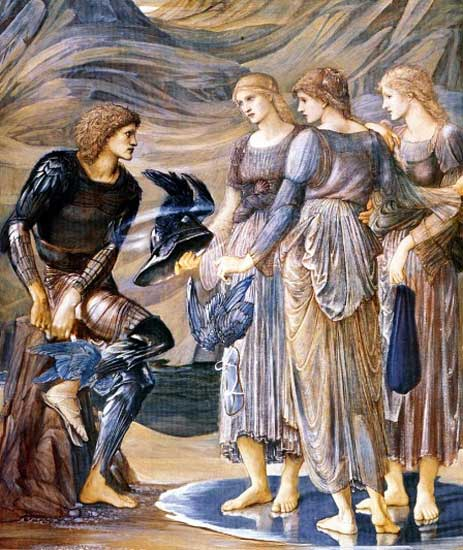 Perseus and the Sea Nymphs, Edward Burne-Jones