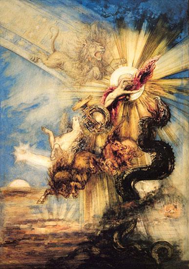 Phaethon, Gustave Moreau (16X22)