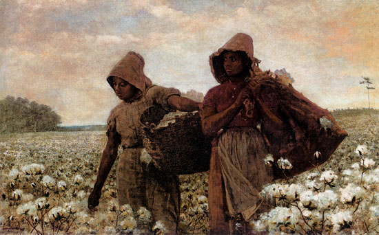 Picking Cotton, Winslow Homer