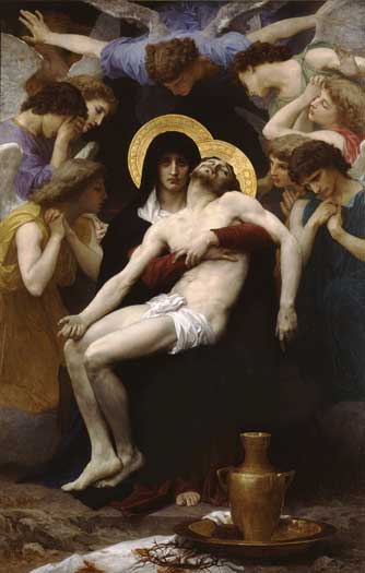 Pieta, William Bouguereau