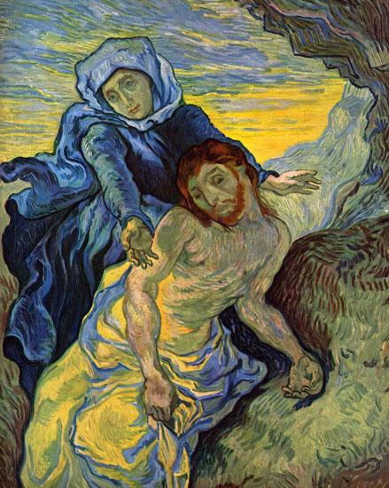 Pieta, Vincent van Gogh (22x27.5)