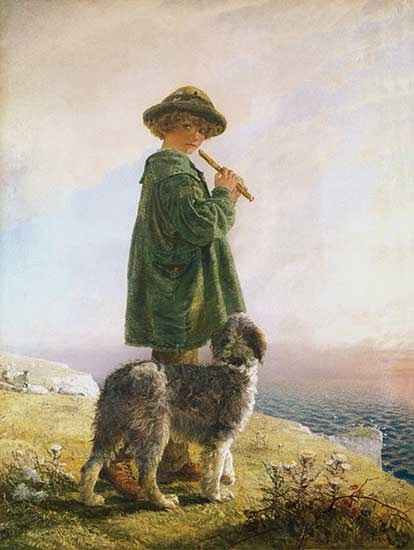 The Piping Shepherd, Alfred Downing Fripp