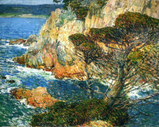 Point Lobos, CarmelChilde Hassam (16X24.5)