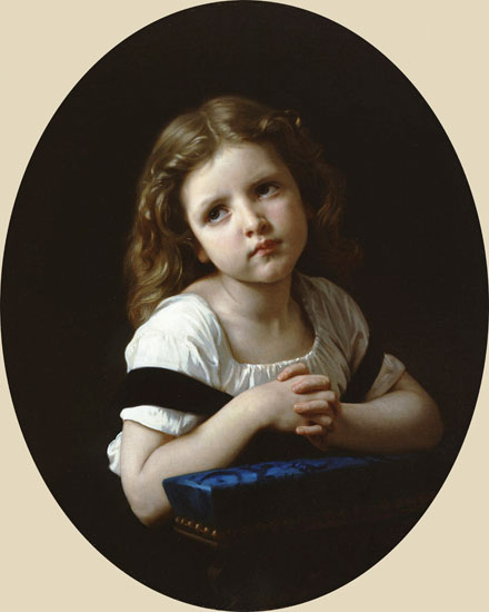 The Prayer, Bouguereau (16X20)