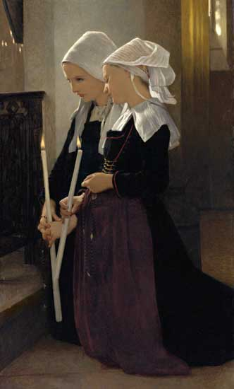 Prayer to Saint Anne of Auray, William Bouguereau
