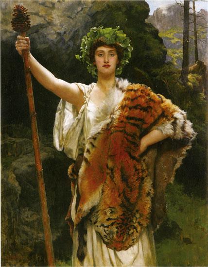 Priestess of Baccus, Hon. John Collier