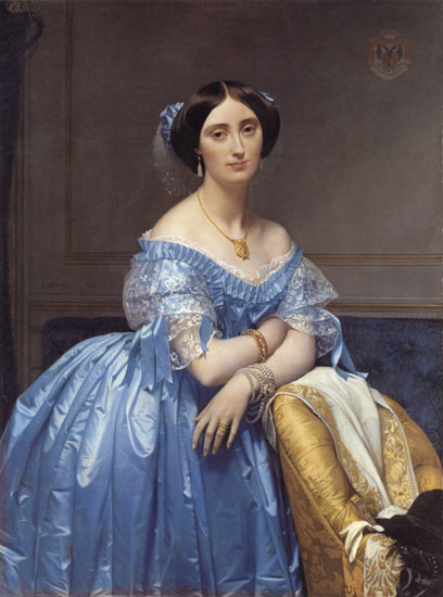 Princesse Albert de Broglie, Jean Auguste Dominique IngresIngres